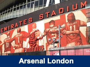 Fußballreise Arsenal London
